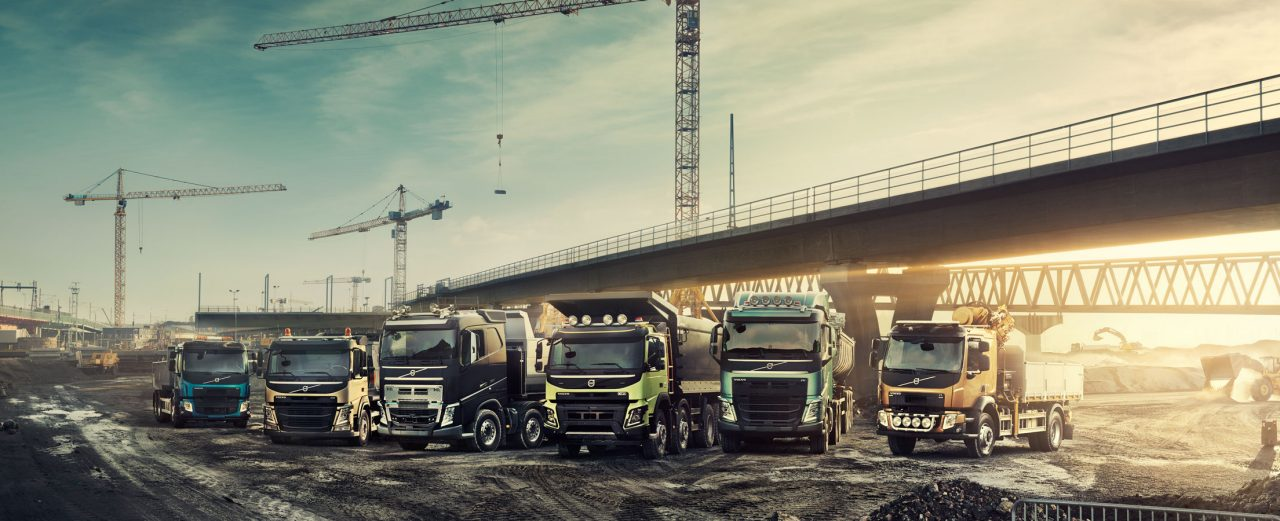 Volvo Trucks Bauinnovationen